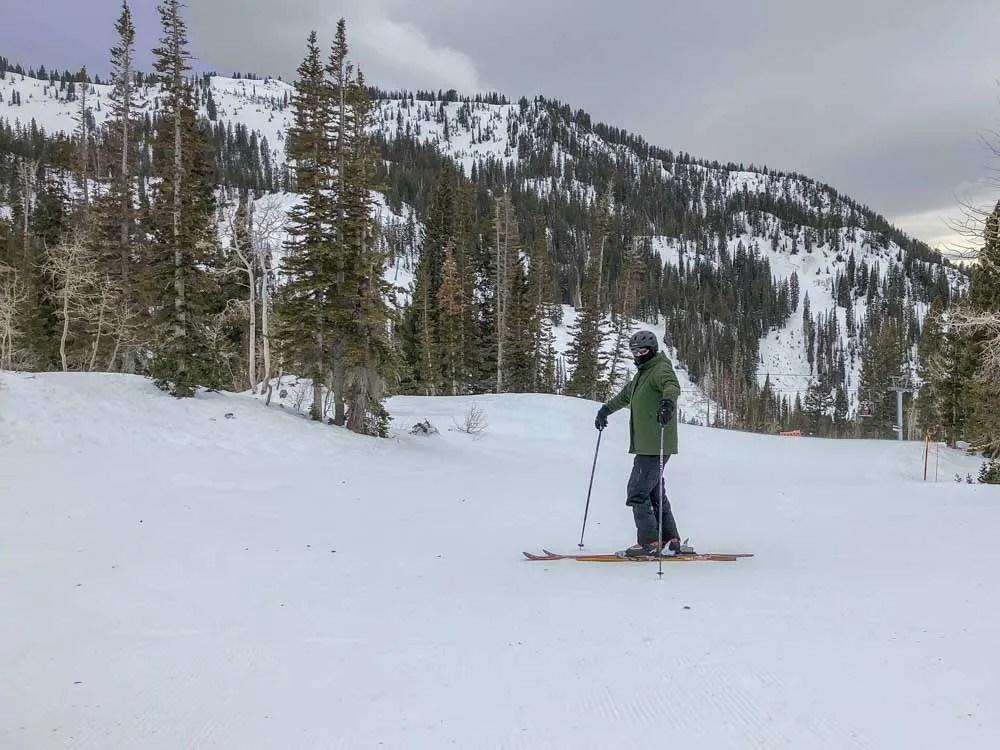 Utah alta skiing
