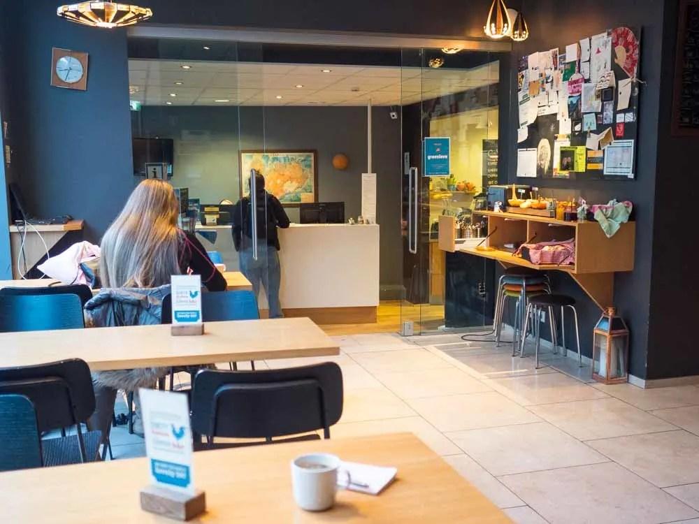 Reykjavik Downtown Hostel lobby