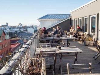 Loft Hostel Iceland Deck