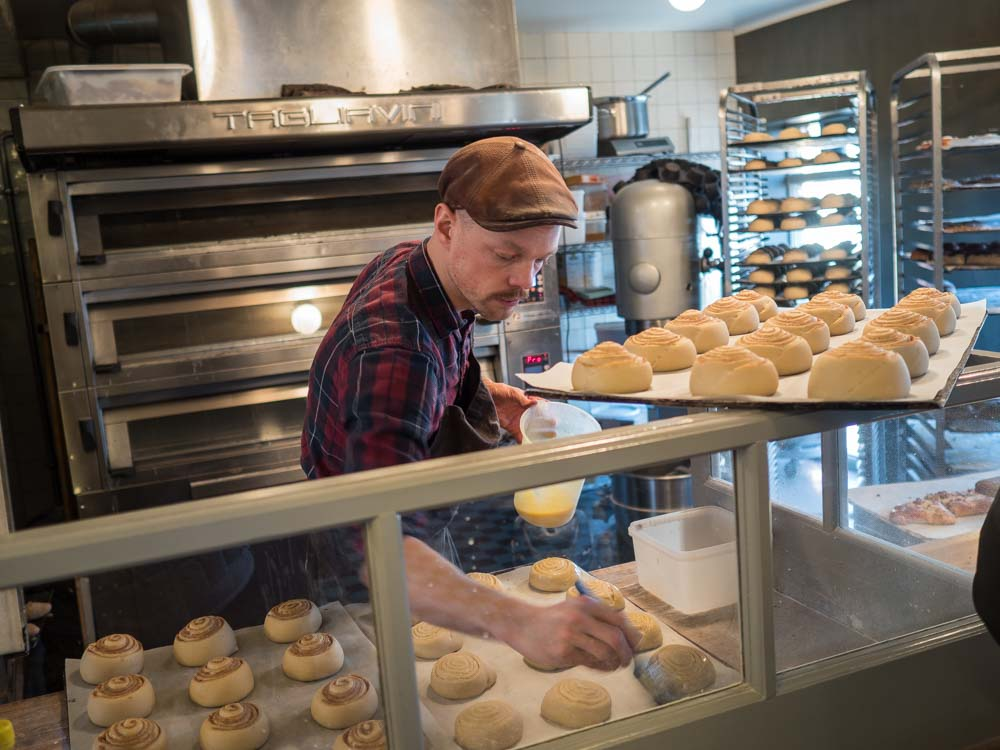 Reykjavik Braud & CO Cinnamon Buns