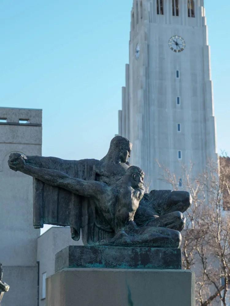 Einar Jonsson Sculpture Park Reykjavik