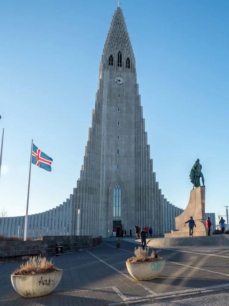 Reykjavik Iceland Hallgrimskirkja Church