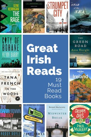 Load up your reading list with these nineteen great books about Ireland. These best Irish books cover novels, contemporary classics, censored books, travel guides and Ireland travel planning resources