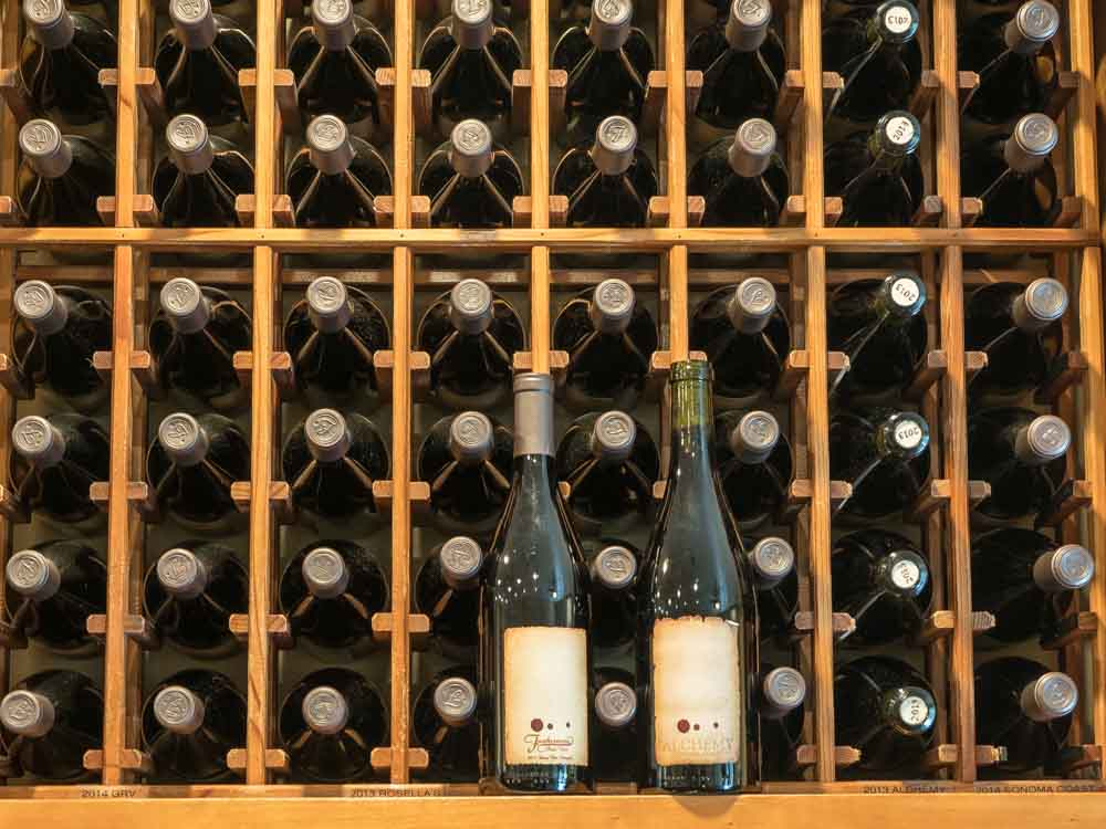 Guernville Furthermore Winery rack