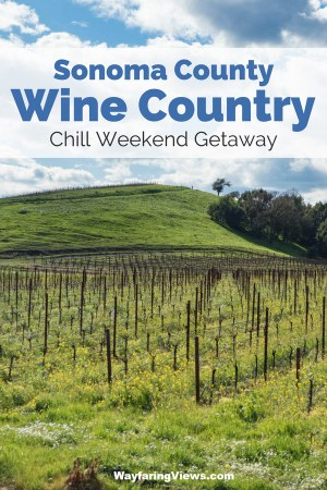Take a chill long weekend getaway in Guerneville and the Russian River Valley. This wine country near San Francisco has great wine tasting, fine food and fun outdoor activities. This complete itinerary will tell you where to eat, how to find the wineries and what to do in Sonoma County.