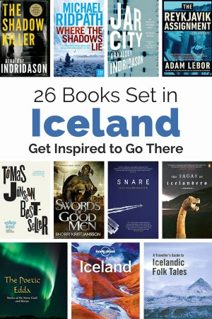 Get inspired to go to Iceland with this reading list of 25 books set there. The list includes fiction, non-fiction, travel guides and even a bit about the Vikings and elves.