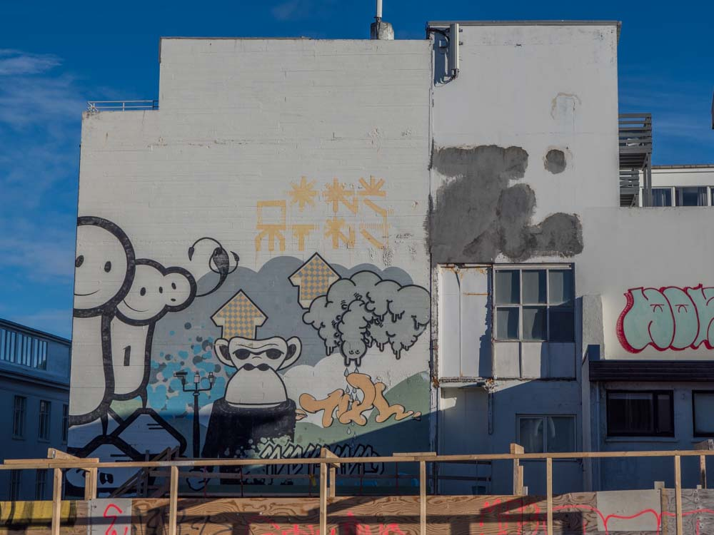 Reykjavik graffiti and street art