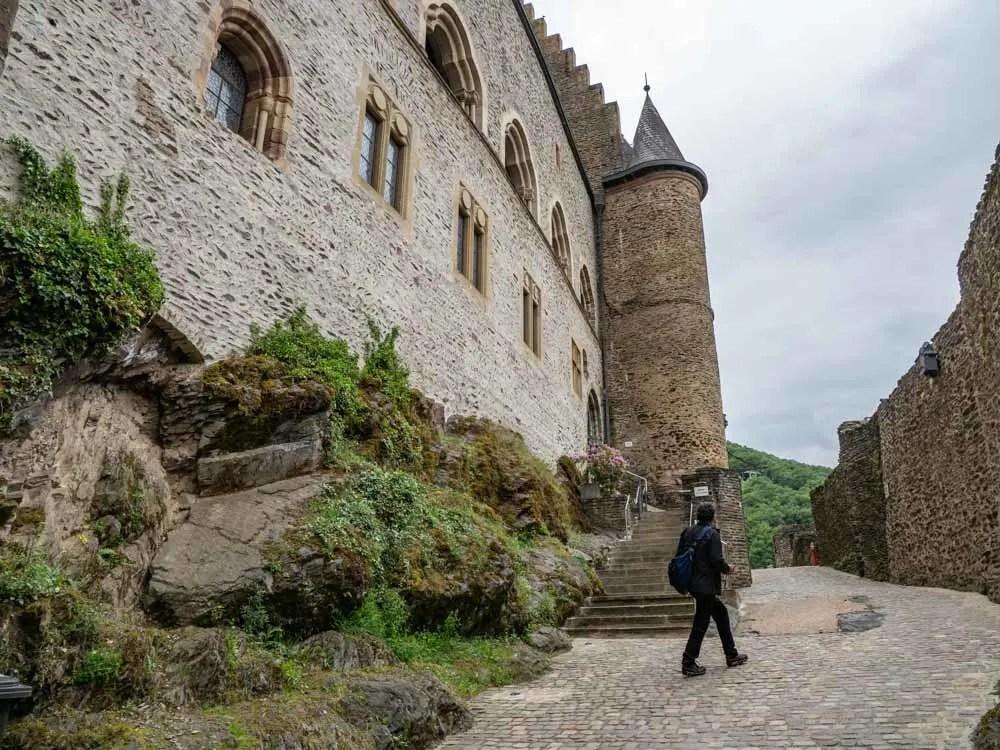 Luxembourg Vianden Castle Tower