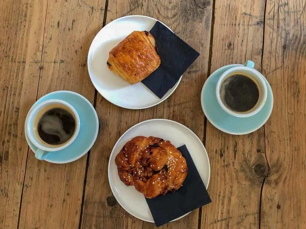 Luxembourg Bloom Cafe breakfast