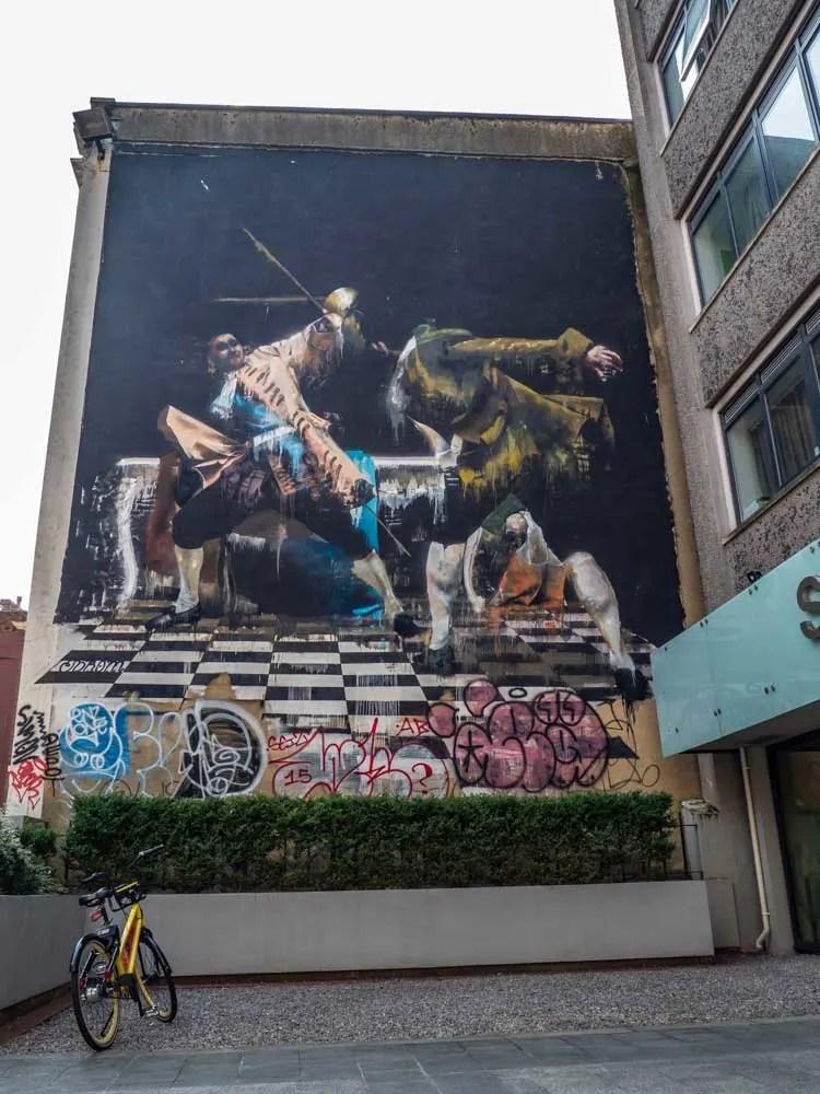 Bristol street art Connor Harrington