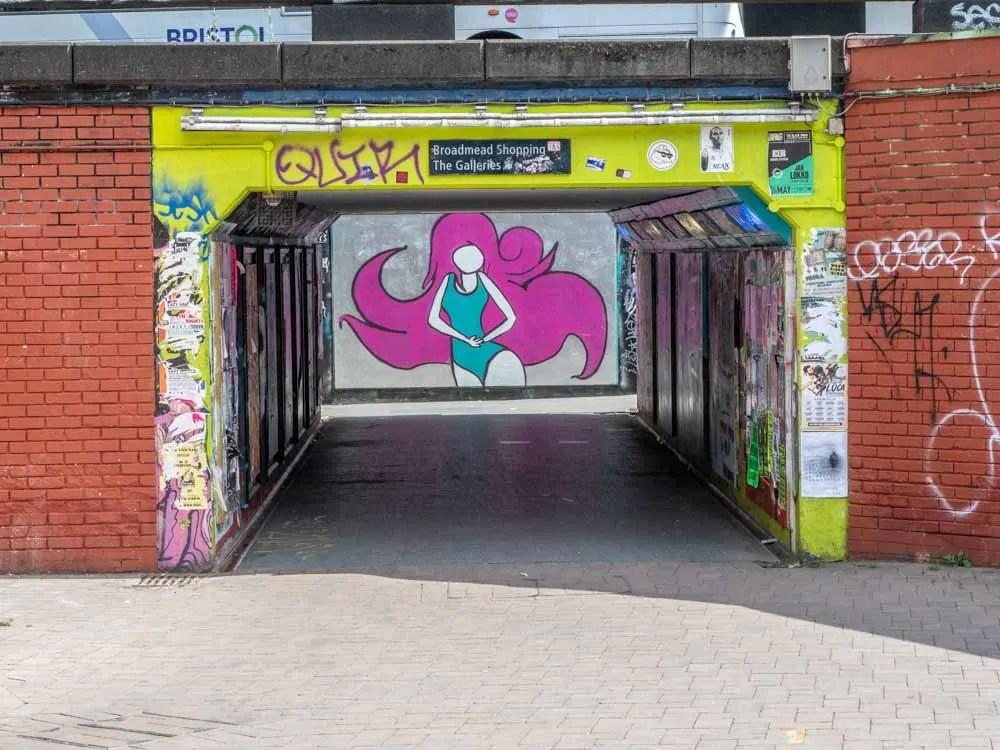 Bristol street art: the Bear Pit