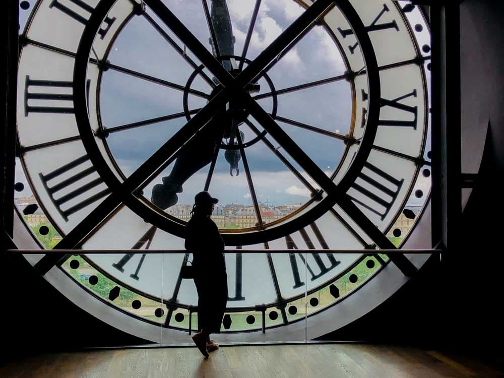 Paris D'Orsay Museum clock