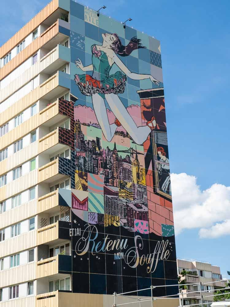 Paris mural by Faile