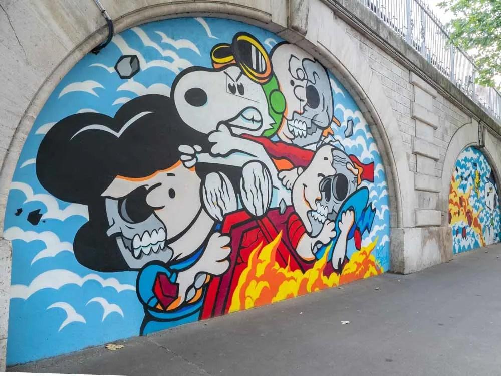 Do A Deep Dive Into The Best Paris Street Art