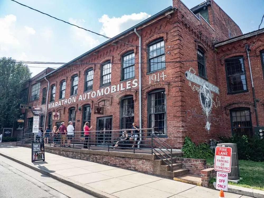 Nashville Marathon Autoworks building exterior