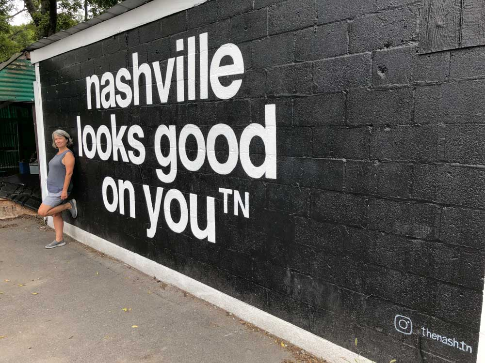 Nashville Looks Good on You Mural