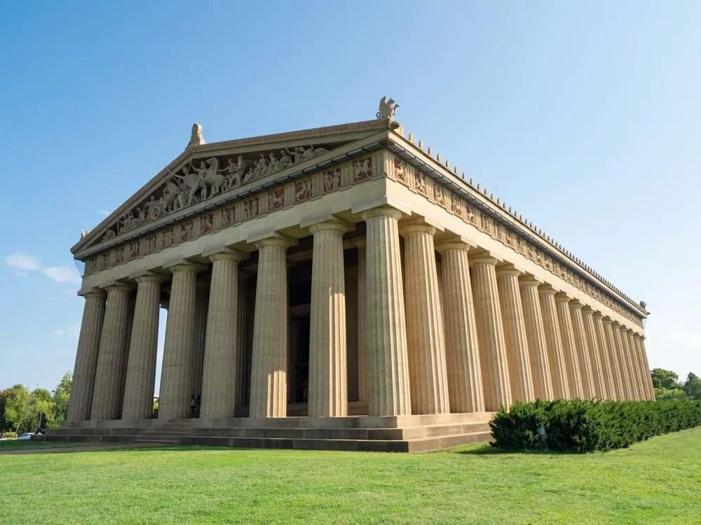 Nashville Parthenon exterior