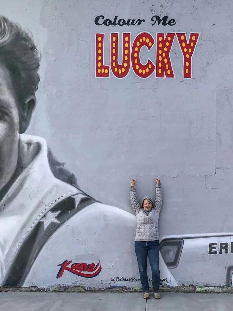 RiNo Denver Colorado Color Me Lucky Mural