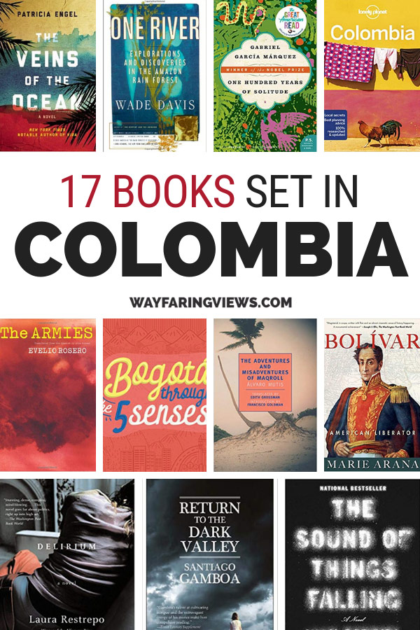 17 of the best books about Colombia with book covers