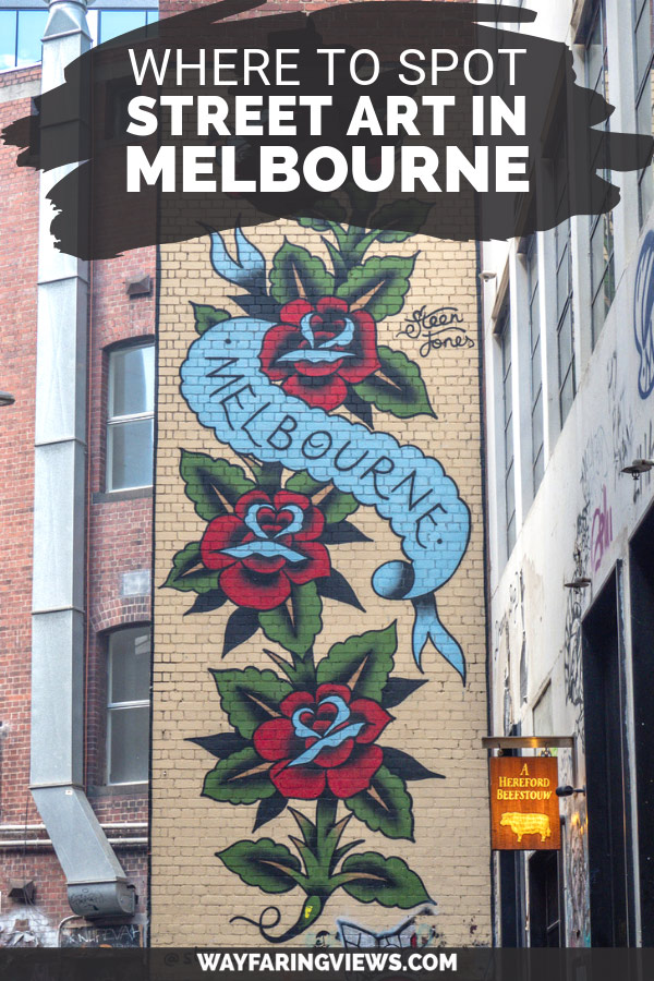 Melbourne graffiti and street art tour.