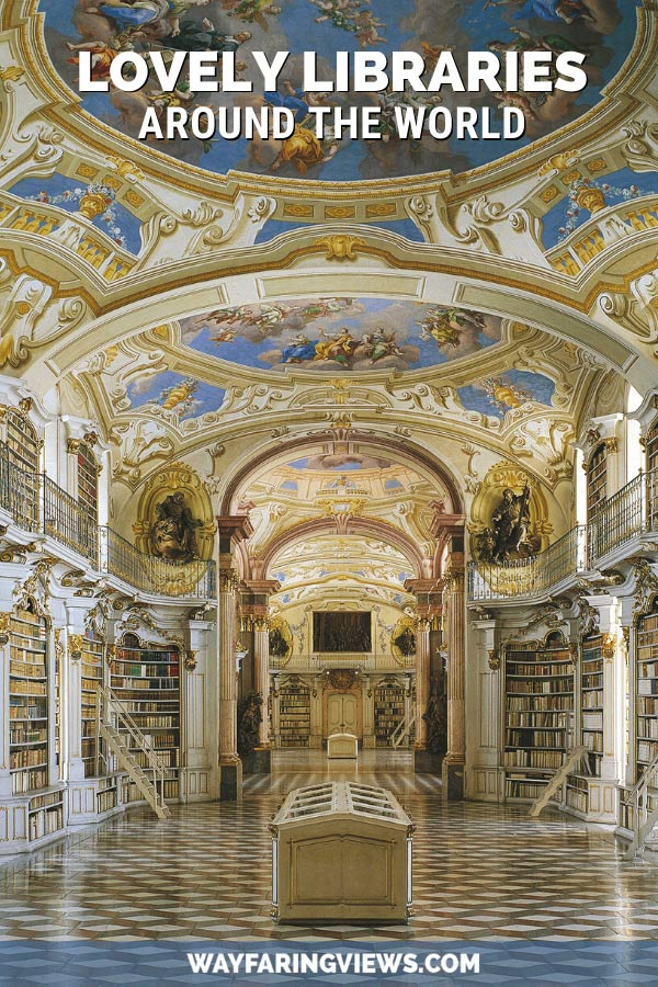 Lovely libraries around the world. Famous and beautiful libraries