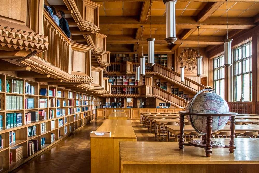 Belgium KU Leuven university library