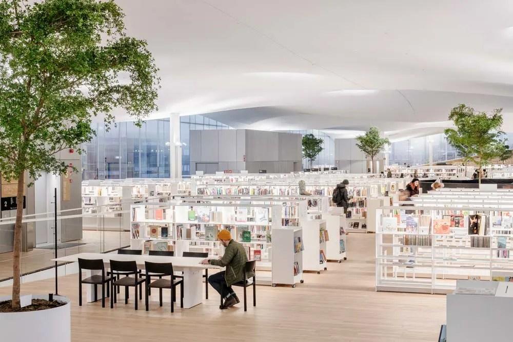 Helsinki Oodi library interior