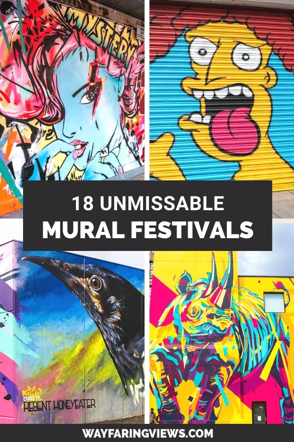 Amazing mural festivals around the world