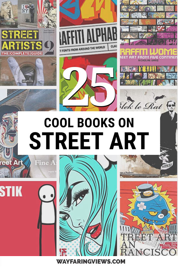 The 25 best graffiti and street art books. Book covers