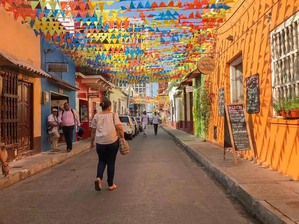 Cartagena Getsemani street