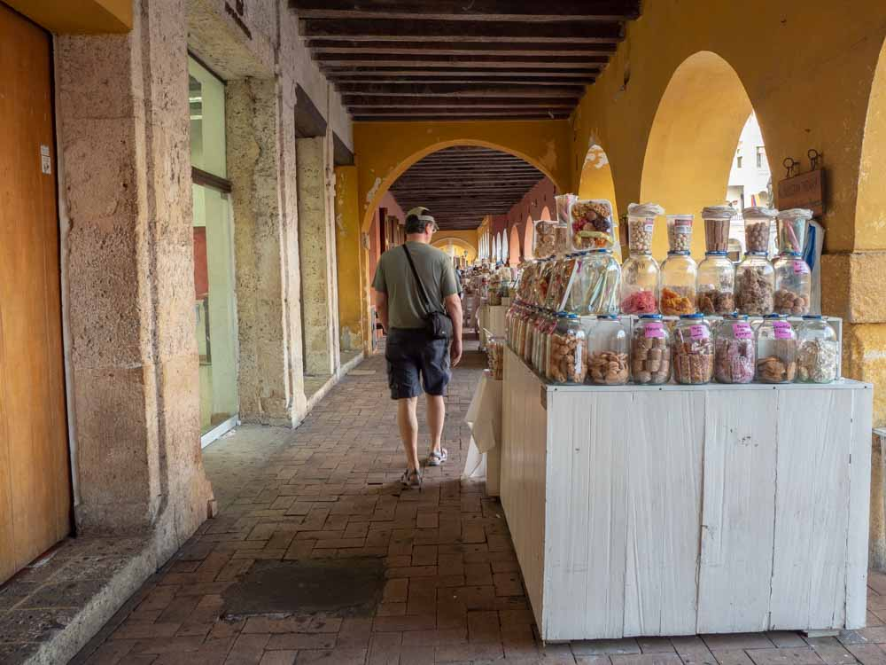 Cartagena itinerary with Plaza de los coches