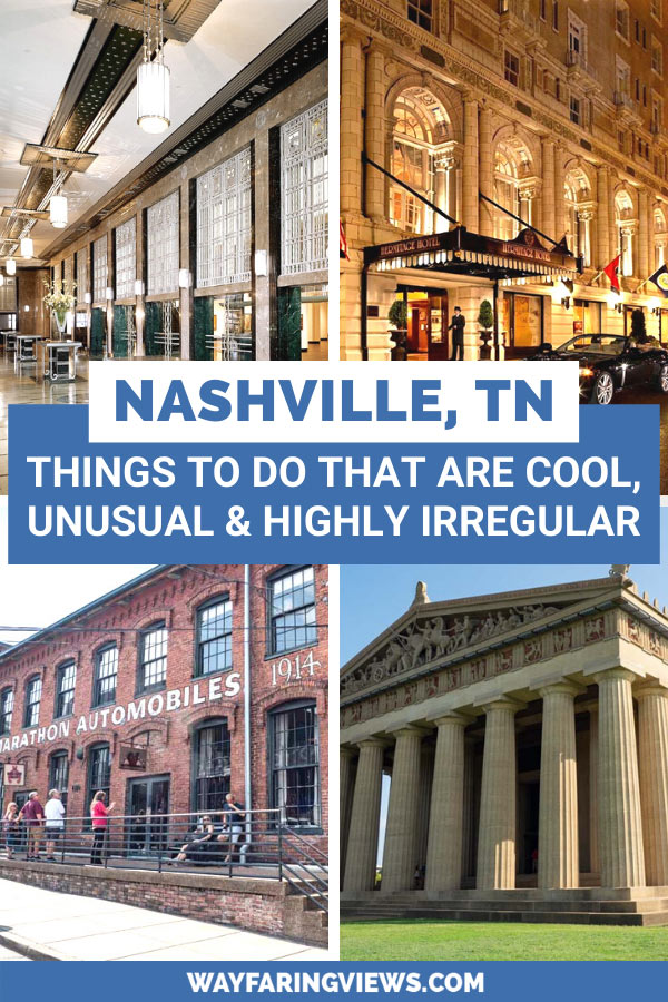 Cool things to do in Nashville Tennessee. buildings and architecture