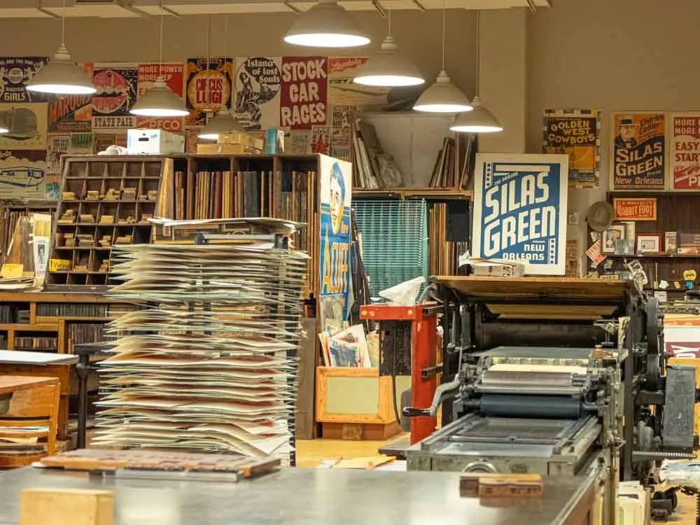 Offbeat Nashville Hatch Show Print Workshop