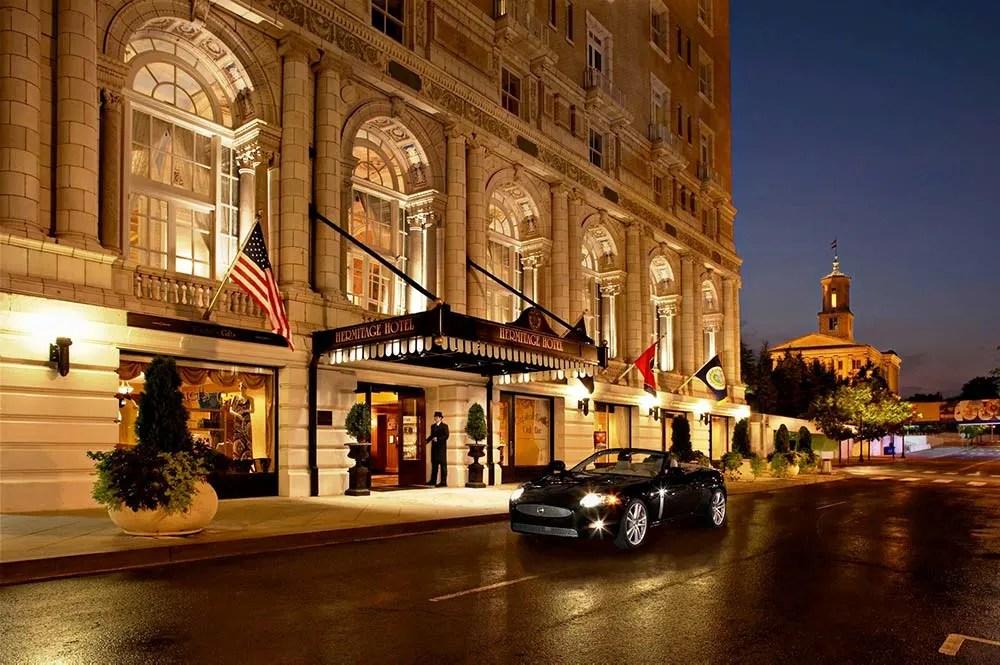 Nashville Hermitage hotel exterior