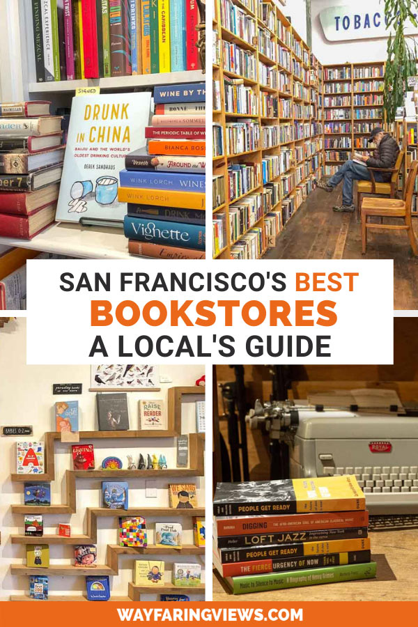 Find the best bookstores in SF