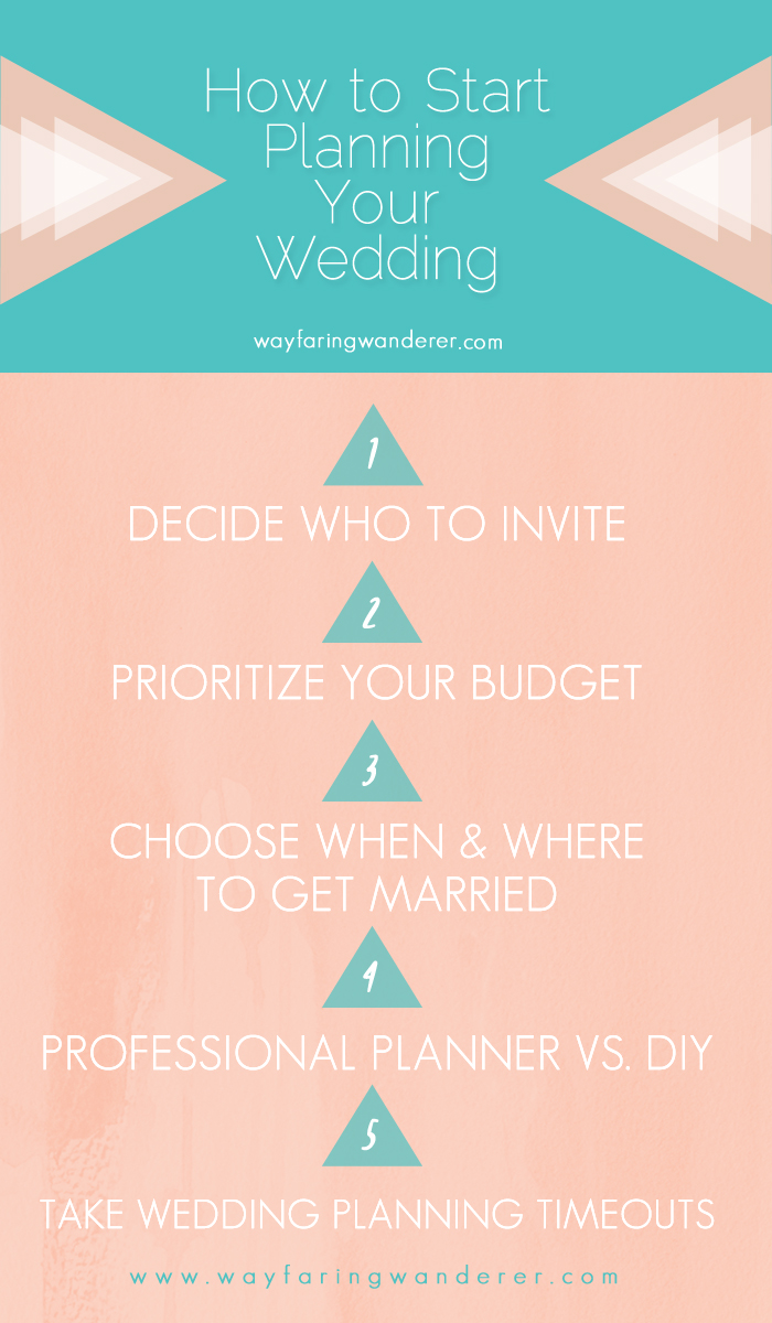 How To Start Planning Your Wedding Day