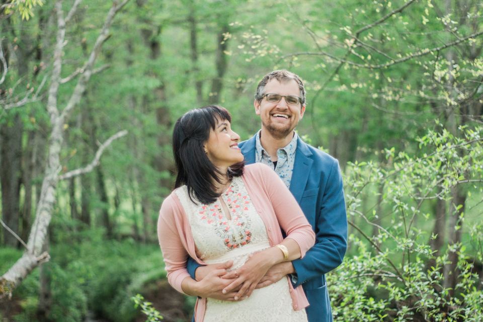 Boone Photographer for Newly Married Jenny & Eric