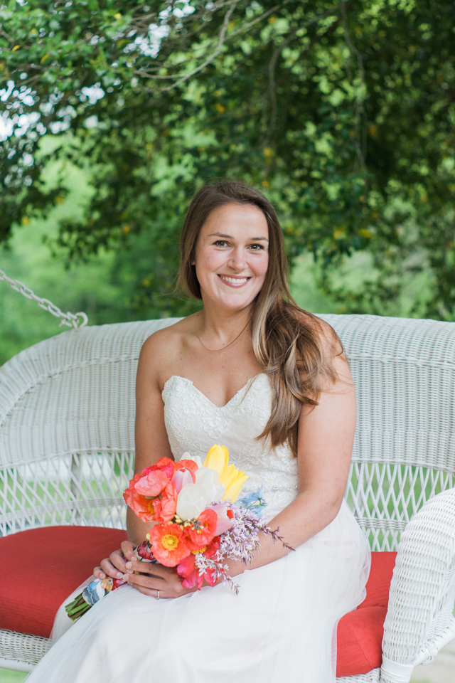 White Fence Farm Wedding - Bridal Portrait