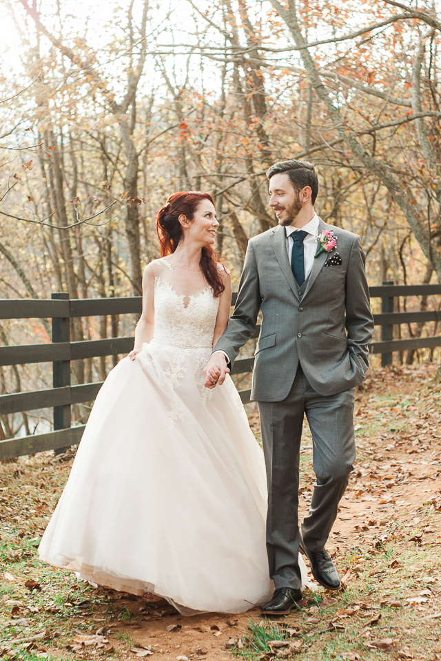 Fall Portraits of Bride & Groom