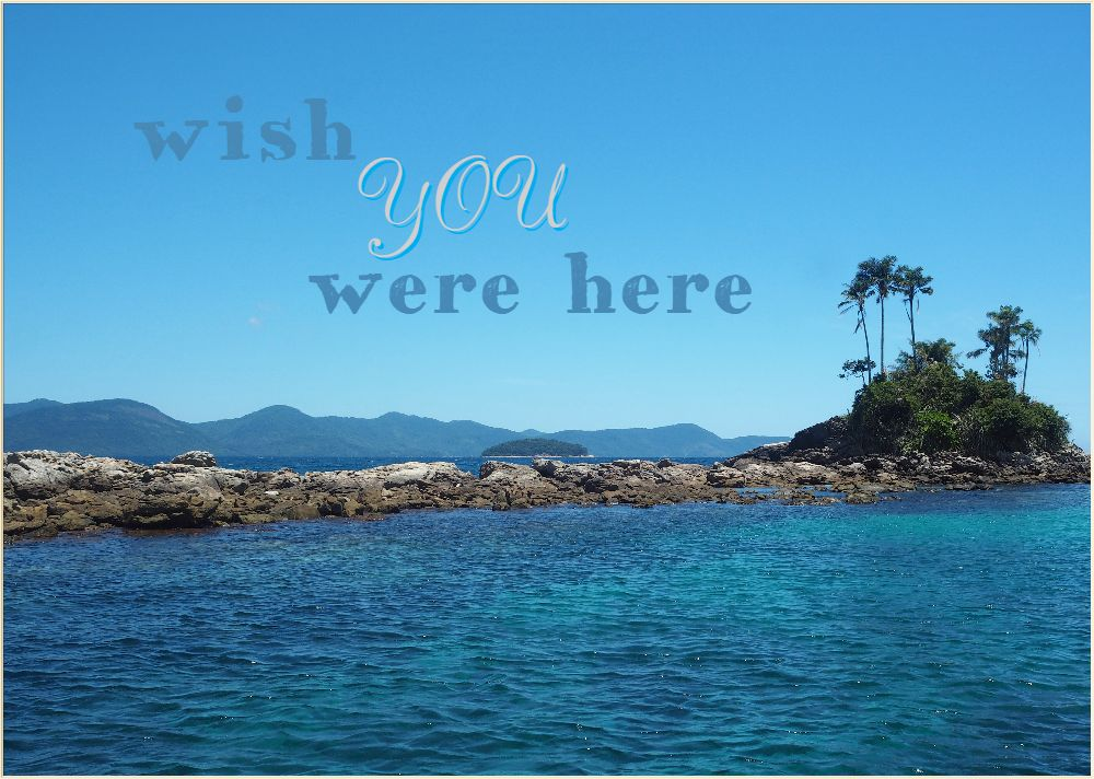 Sunday postcard from… Ilha Grande, Brazil