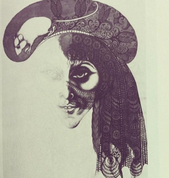Vali Myers art