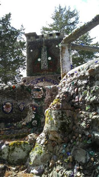 wagner grotto sparta wisconsin folk art stones