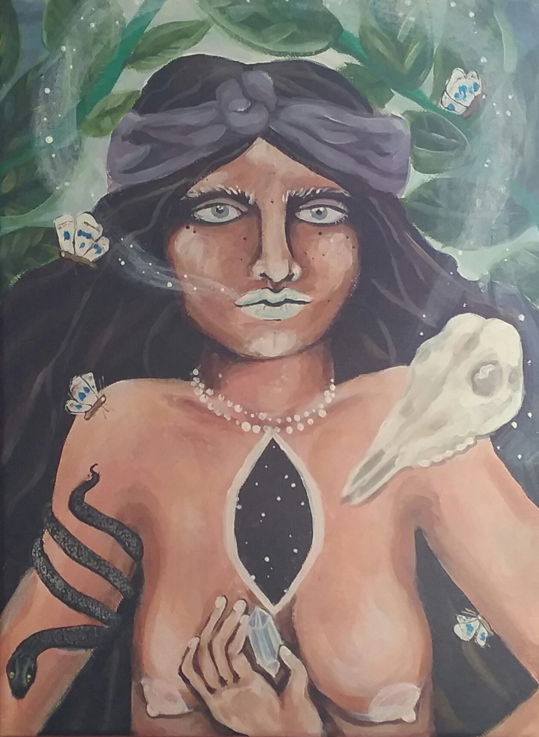 """""""Exhaling the Psychopomp, Opening the Void"""" by Tiana"""