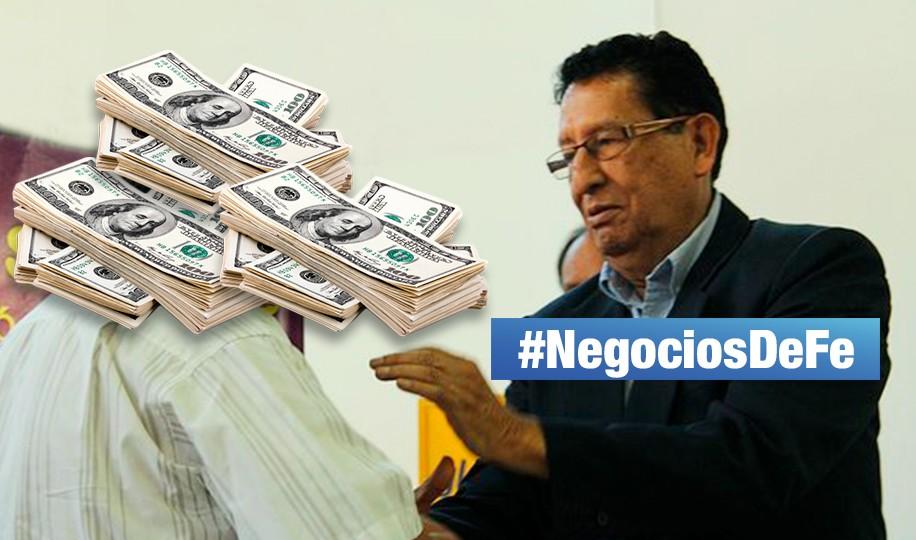#NegociosDeFe: UIF reportó 15 millones de dólares en cuentas de pastor evangélico Vicente Díaz Arce