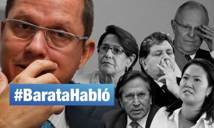 Desde Brasil, Jorge Barata habló
