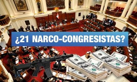 Existen 21 narco-congresistas según investigador Antezana