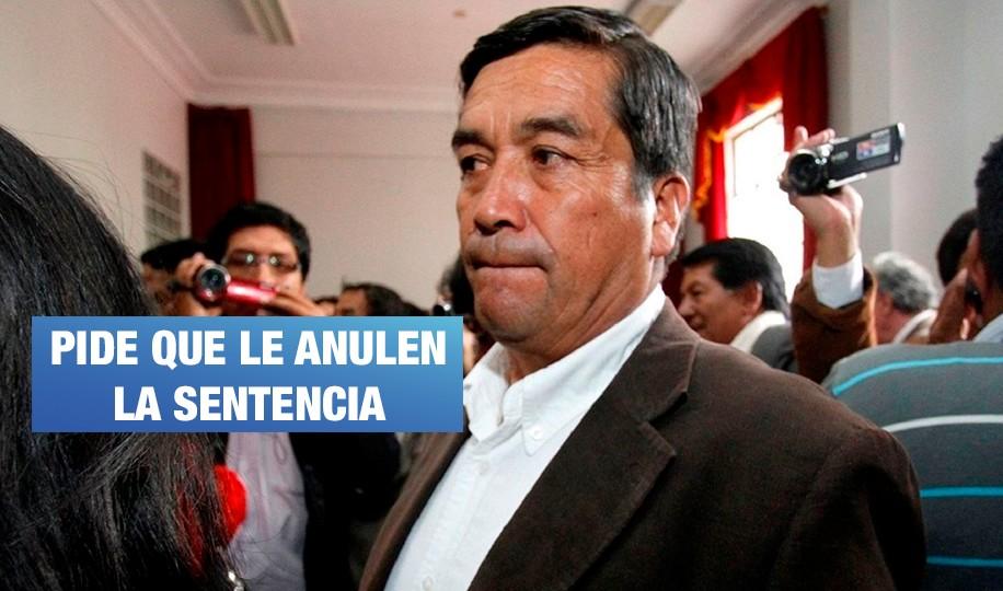 Congresista Benicio Ríos se rehúsa a acatar sentencia en su contra