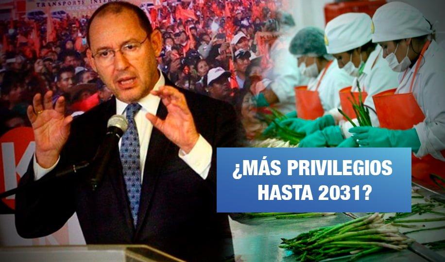 Ley Chlimper le permite quedarse con S/ 23 millones anuales de sus trabajadores, por Pedro Francke