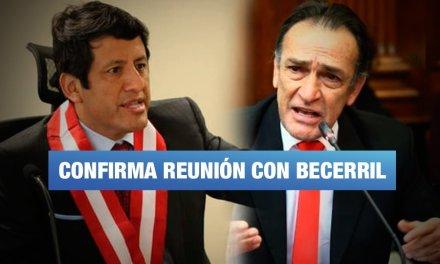 Audio confirma reunión entre Becerril y Guido Aguila para discutir presidencia del CNM
