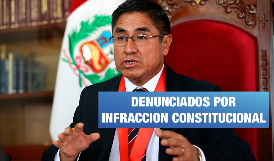 Partido oficialista presenta denuncia constitucional contra juez y consejeros de la CNM